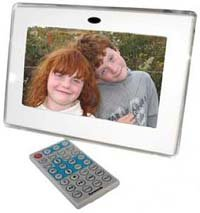 digital photo frame and remote control