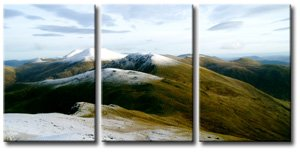 triptych photo canvas