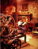 old fashioned workshop