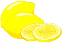 whole and sliced lemons