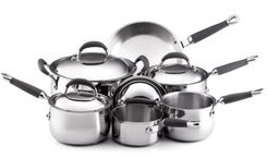 stainless steel pans