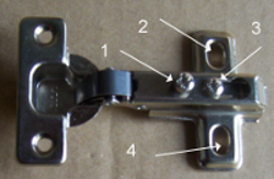 How To Adjust Kitchen Cupboard Cabinet Door Hinges