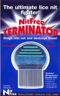 Nitfree Terminator nit combe