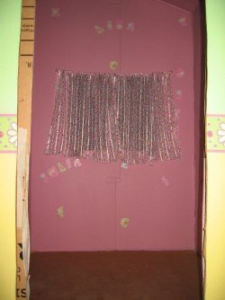 picture of curtains made for play house