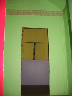 door of playhouse