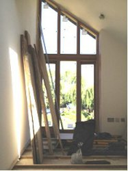 Dressing A Window With A Sloping Ceiling New Sloping