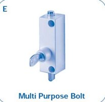 multipurpose window bolt